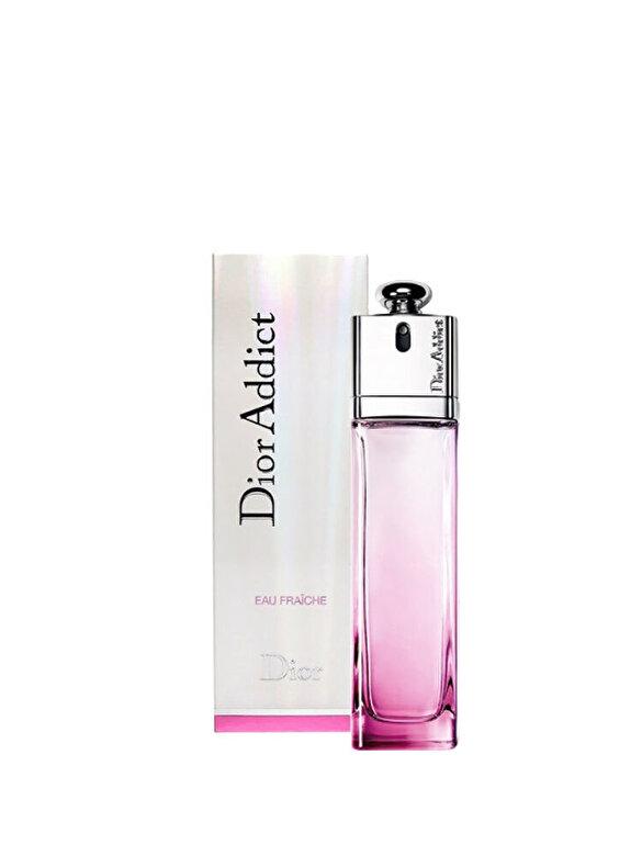 Christian Dior - Apa de toaleta Christian Dior Addict eau fraiche, 100 ml, Pentru Femei - Incolor
