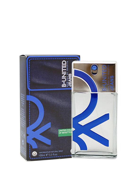 Benetton - Apa de parfum Benetton B-United Jeans, 100 ml, pentru barbati - Incolor