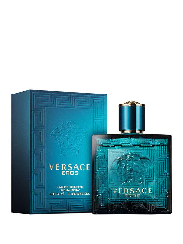 Versace - Apa de toaleta Versace Eros, 100 ml, Pentru Barbati - Incolor