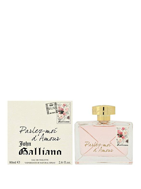 John Galliano - Apa de toaleta Parlez-Moi d'Amor, 80 ml, pentru femei - Incolor