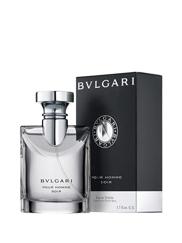 Bvlgari - Apa de toaleta Bvlgari Pour Homme Soir, 100 ml, Pentru Barbati - Incolor