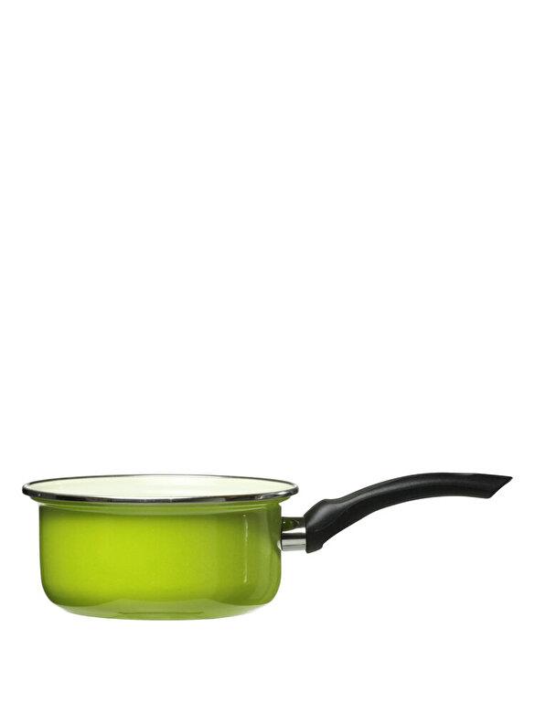 Domotti - Cratita emailata - Vigo, 12 cm - Lime