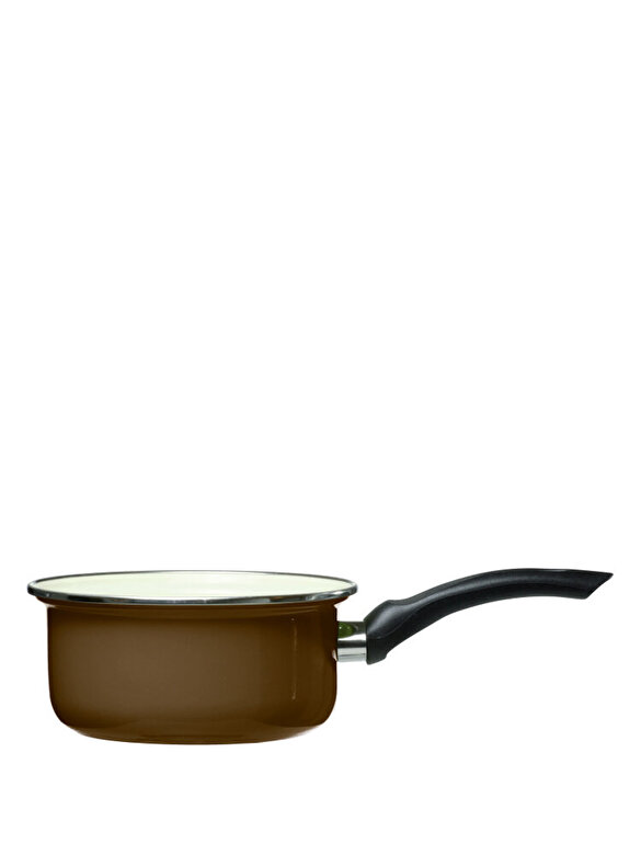 Domotti - Cratita emailata - Vigo, 12 cm - Maro