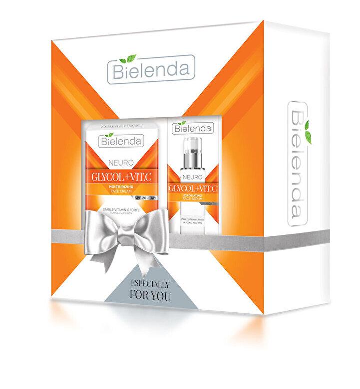 Bielenda - NEURO GLICOL (Crema de fata zi + Ser pentru fata) - Incolor