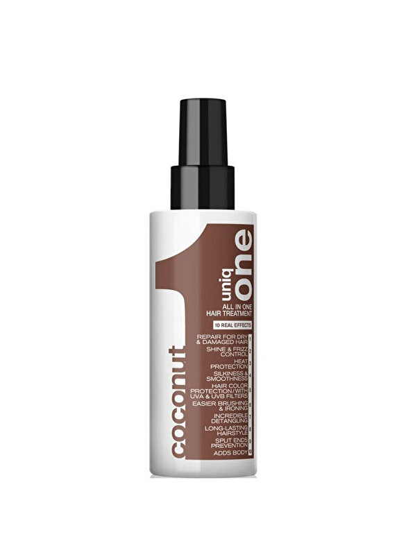 Revlon - Tratament cu Nuca de Cocos - Revlon Professional Uniq One All In One Coconut Treatment, 150 ml - Incolor