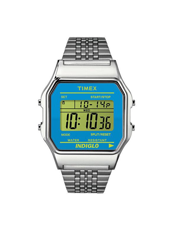 Timex - Ceas Timex T80 Classic TW2P65200 - Argintiu