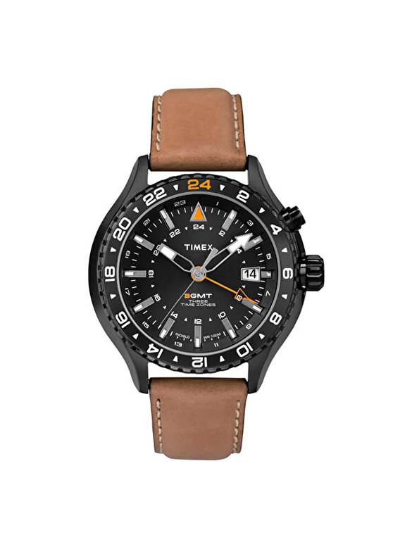 Timex - Ceas Timex Intelligent Quartz T2P427 - Tabac