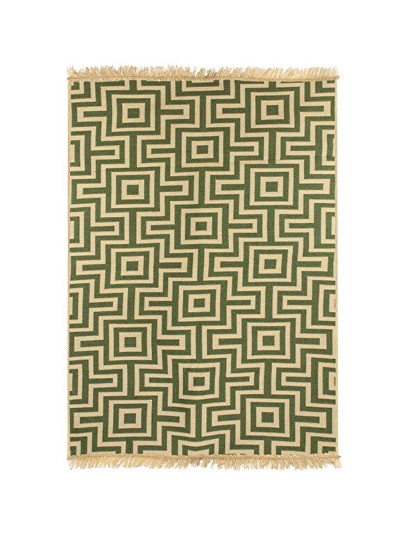 Ya Rugs - Covor Kare, 120 x 180 cm - Verde kaki inchis