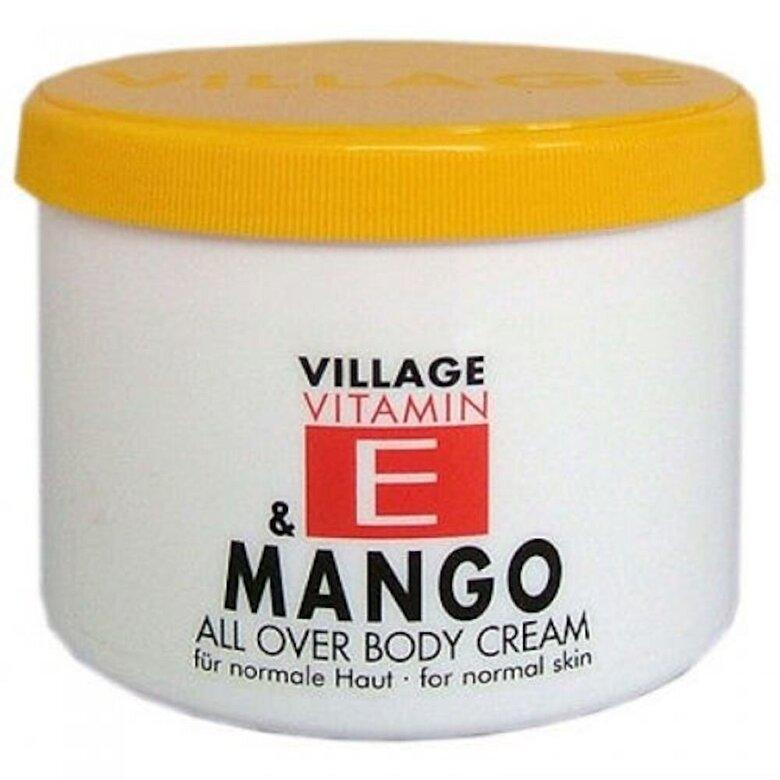 Village Cosmetics - Crema corp V\cu vitamina E si Mango, 500 ml - Incolor