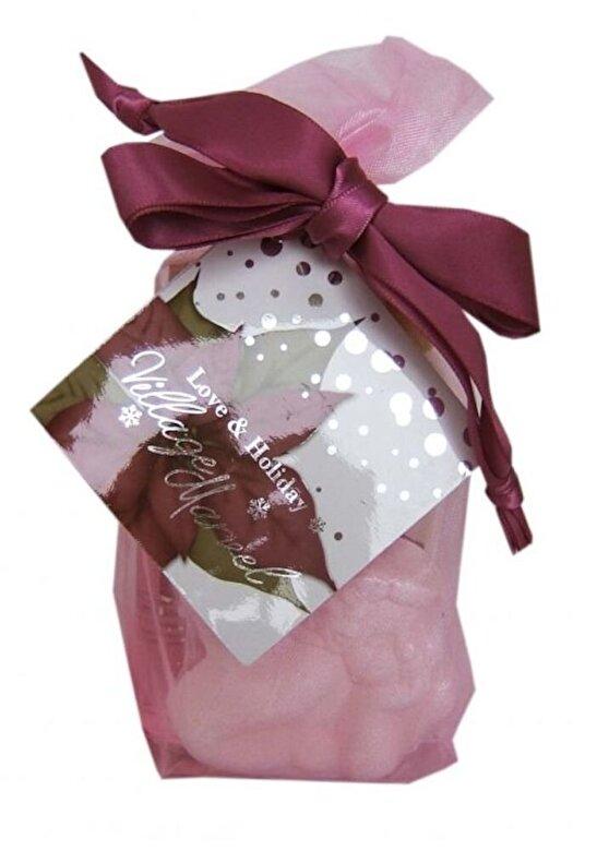 Village Cosmetics - Set cadou, Organza Vintage (gel de dus 65 ml, lotiune de corp 65 ml, bila efervescenta de baie decorativa a 50 g) - Incolor