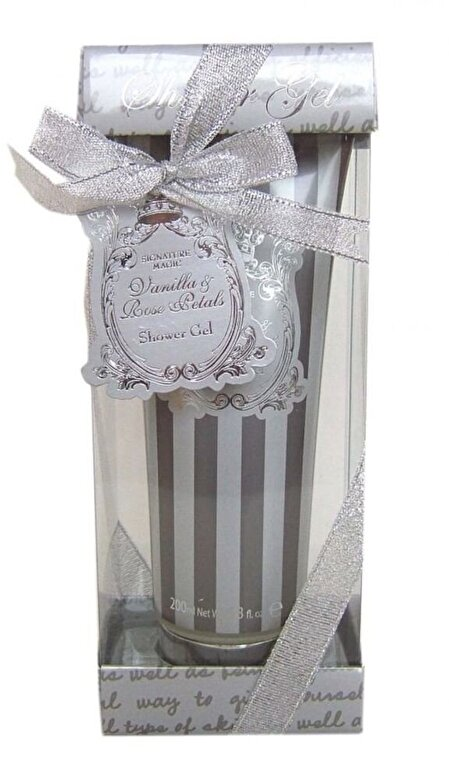 Village Cosmetics - Gel de dus floral Silver Signature, 200 ml - Incolor