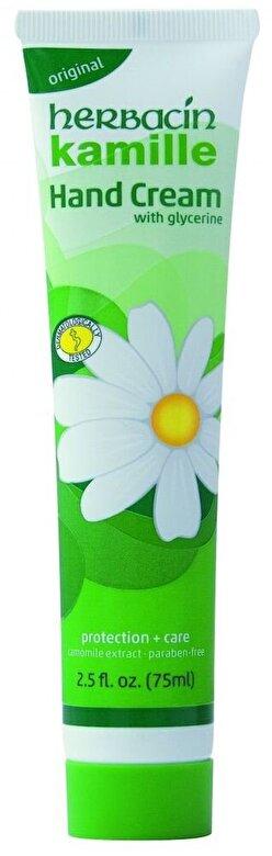 Herbacin - Crema maini cu musetel - original, 75 ml - Incolor
