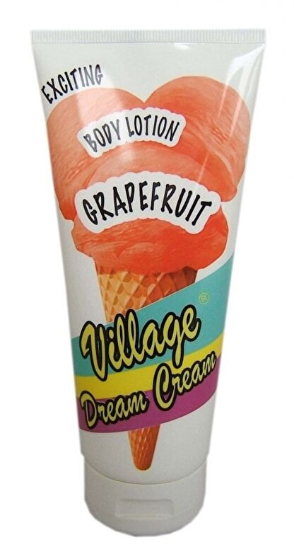 Village Cosmetics - Lotiune corp Dream Cream cu Grapefruit, 200 ml - Incolor