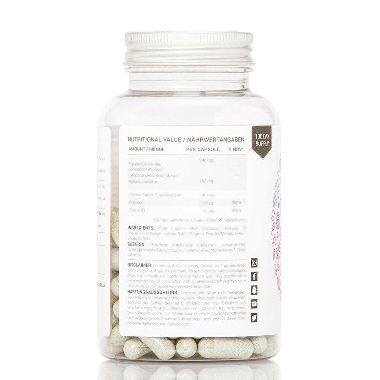 Women's best - Vitamin K2 + D3 + Omega 3 (90 Capsule) - Incolor