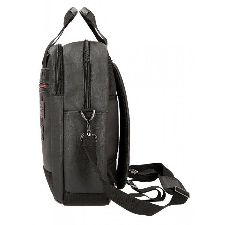 Pepe Jeans - Rucsac adaptabil cu comp. laptop 42 cm Pepe Jeans Baker - Negru