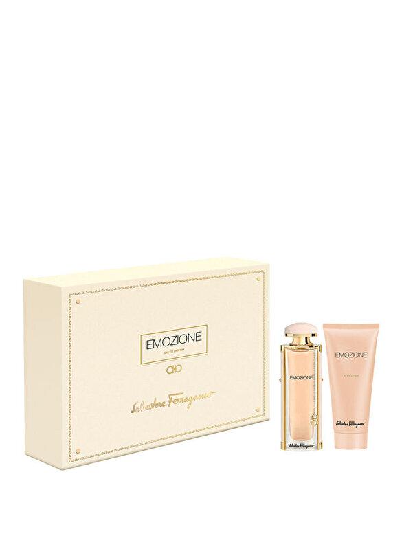 Salvatore Ferragamo - Set cadou Emozione (Apa de Parfum 50 ml + Lotiune de corp 100 ml), Pentru Femei - Incolor