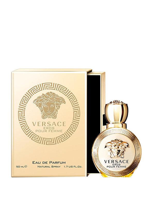 Versace - Apa de parfum Versace Eros pour Femme, 50 ml, Pentru Femei - Incolor