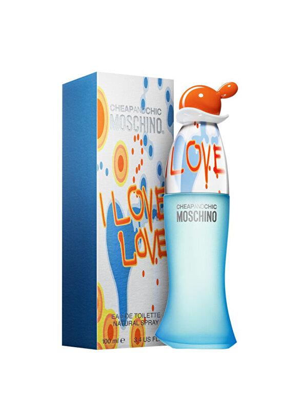 Moschino - Apa de toaleta Moschino I Love Love, 100 ml, Pentru Femei - Incolor