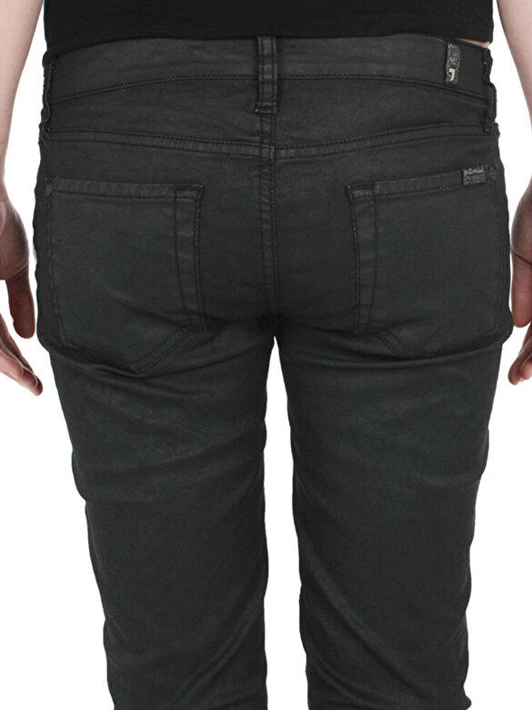 7 For All Mankind - Pantaloni skinny - Negru