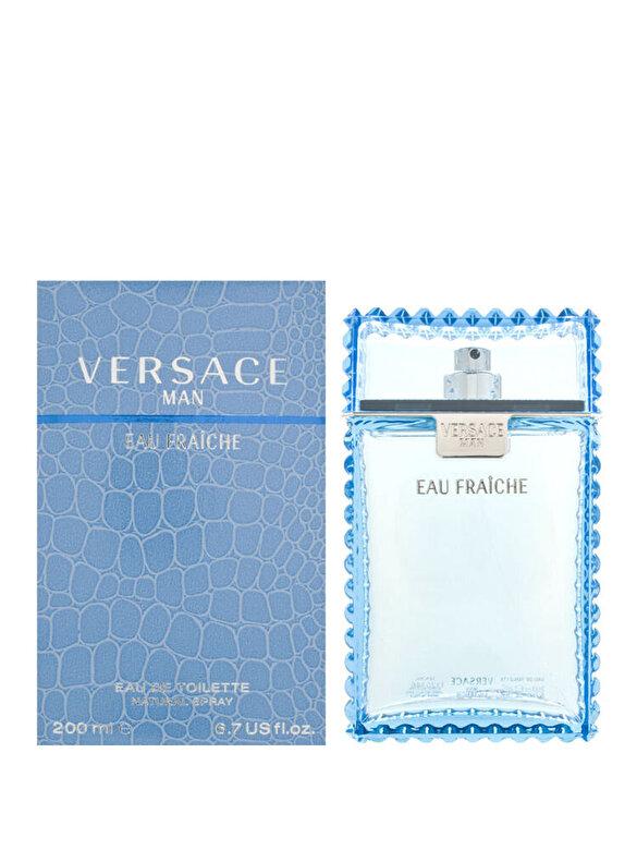 Versace - Apa de toaleta Man Eau Fraiche, 200 ml, Pentru Barbati - Incolor