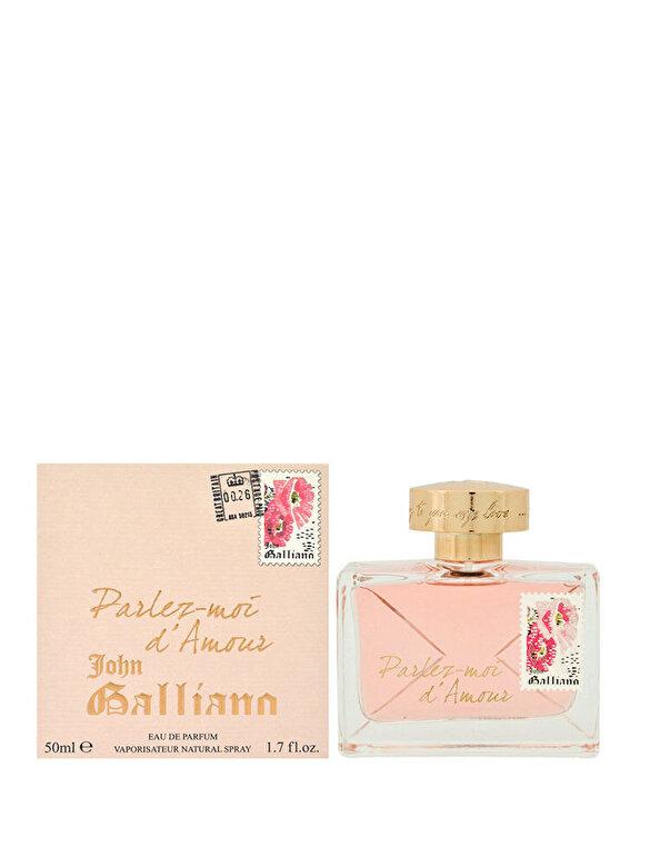 John Galliano - Apa de parfum Parlez-Moi d'Amor, 50 ml, Pentru Femei - Incolor
