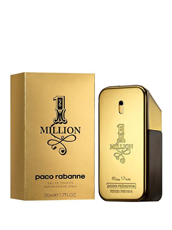 Paco Rabanne - Apa de toaleta Paco Rabanne 1 Million, 50 ml, Pentru Barbati - Incolor
