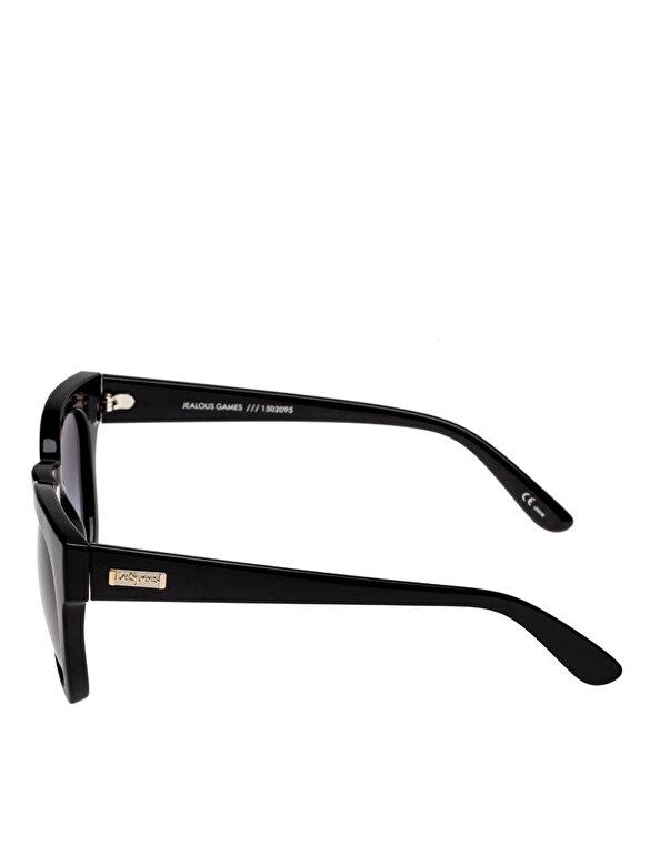 Le Specs - Ochelari de soare Le Specs Jealous Games Shiny Black - Negru