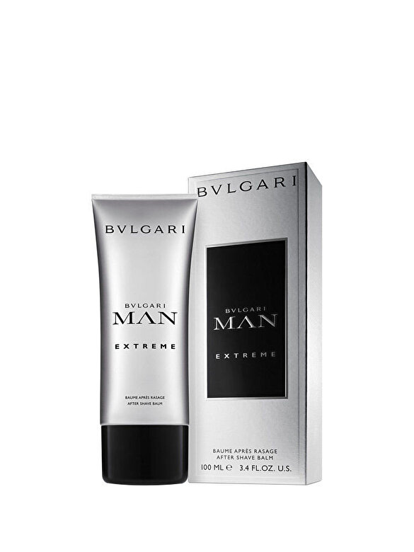 Bvlgari - After shave balsam Man Extreme, 100 ml, Pentru Barbati - Incolor