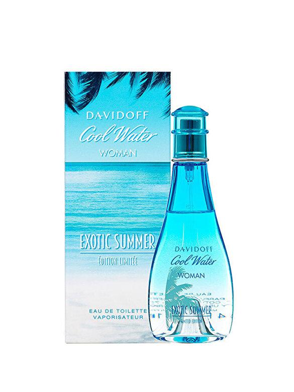 Davidoff - Apa de toaleta Davidoff Cool Water Exotic Summer 2016, 100 ml, Pentru Femei - Incolor