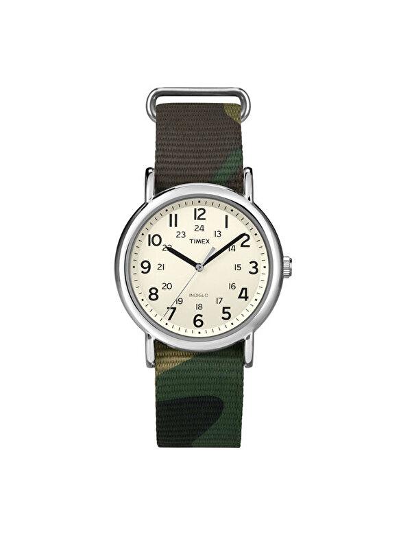 Timex - Ceas Timex Weekender T2P365 - Maro inchis