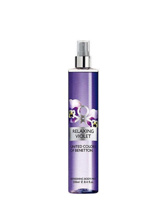 Benetton - Spray de corp Benetton Relaxing Violet, 250 g, Pentru Femei - Incolor