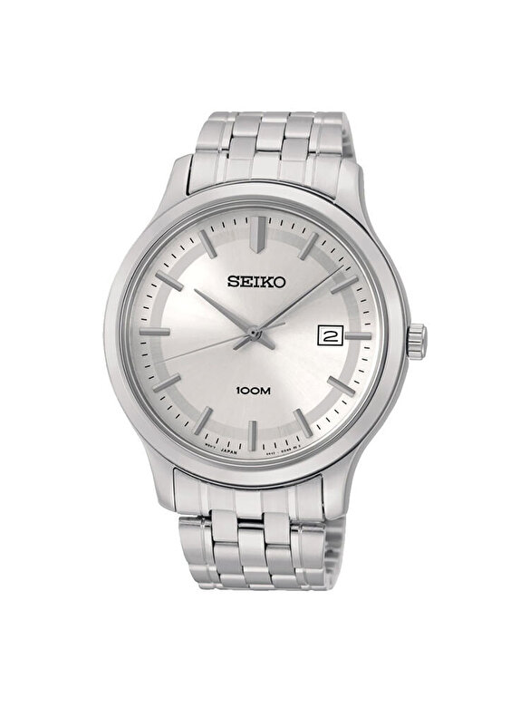Seiko - Ceas Seiko Quartz SUR141P1 - Argintiu