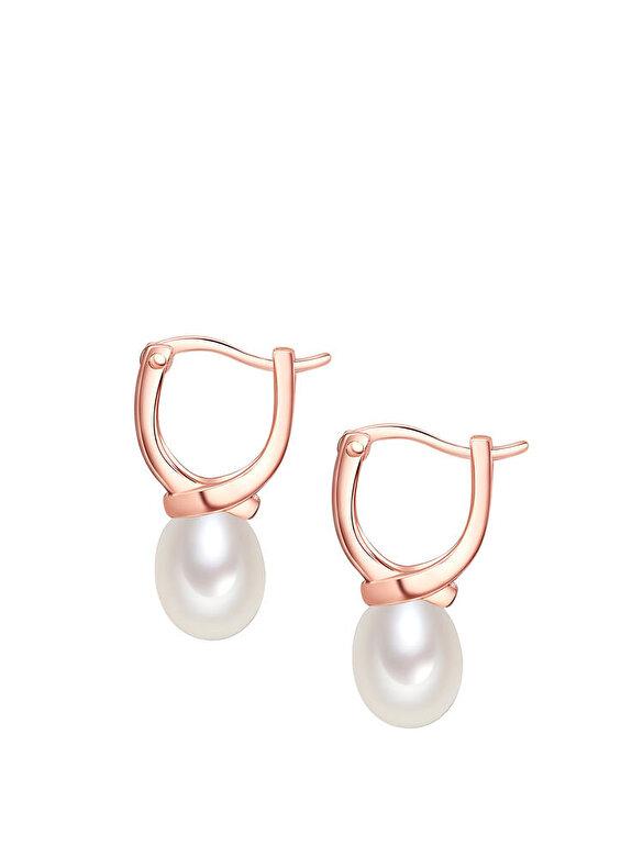 Valero Pearls - Cercei pearl - Auriu