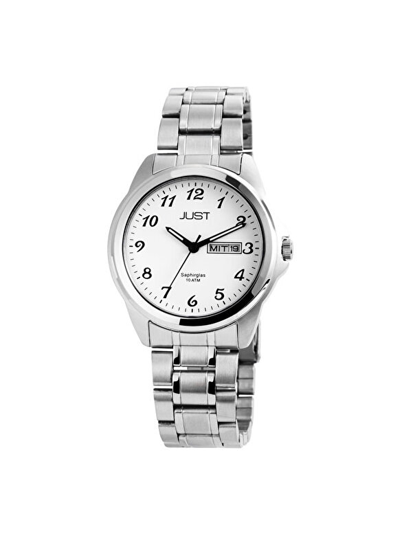 Just Watch - Ceas Just Watch 48-S50126-WH - Argintiu