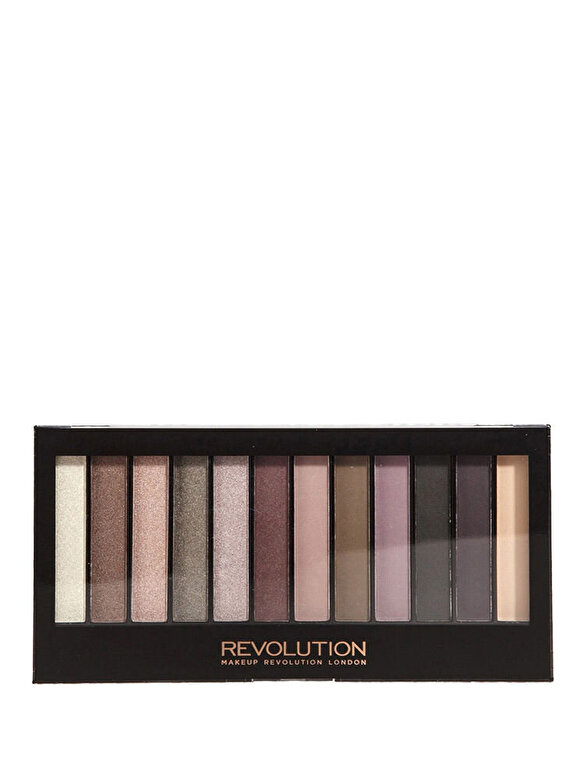 Makeup Revolution London - Paleta farduri de ochi Makeup Revolution Romantic Smoked - Incolor