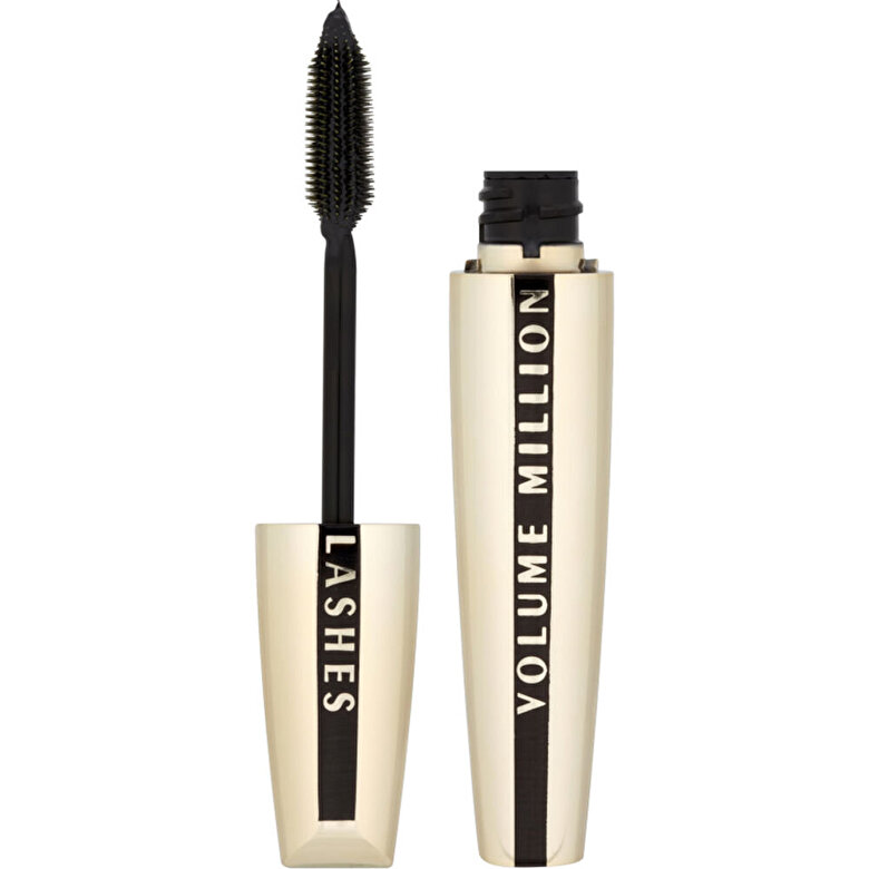 L Oreal Paris - Mascara pentru volum si alungire Million Lashes, negru, 9 ml - Incolor