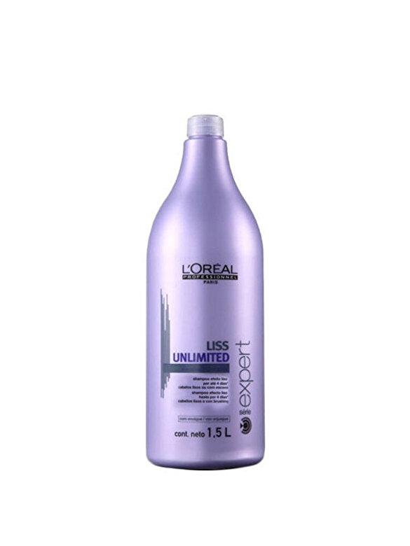 LOreal Professionnel - Sampon profesional pentru par rebel L'Oréal Professionnel Serie Expert Liss Unlimited, 1500ml - Incolor