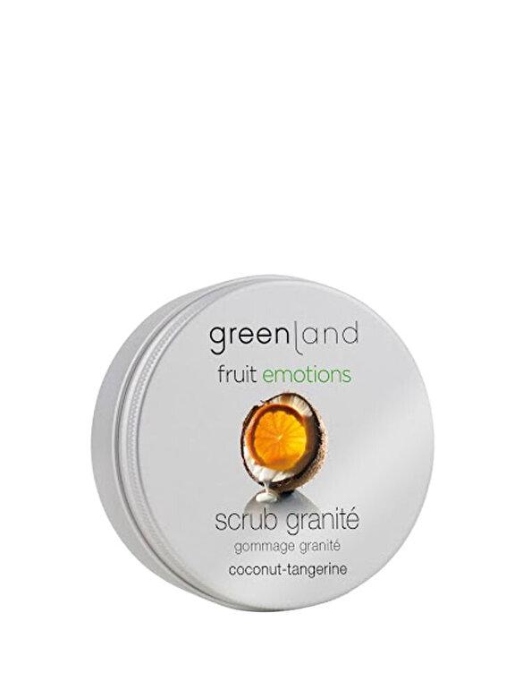 Greenland  - Exfoliant corporal granita cu extract natural din Cocos si Mandarine, 200 ml - Incolor