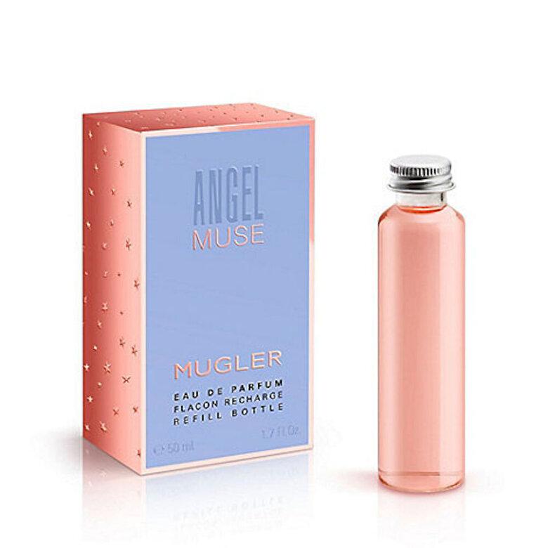 Thierry Mugler - Apa de parfum Angel Muse, reincarcabil, 50 ml, Pentru Femei - Incolor