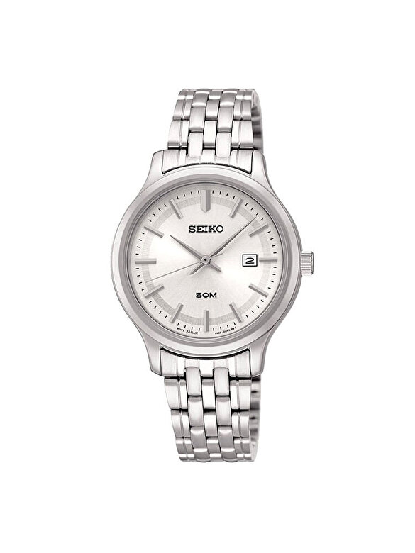 Seiko - Ceas Seiko Quartz SUR799P1 - Argintiu