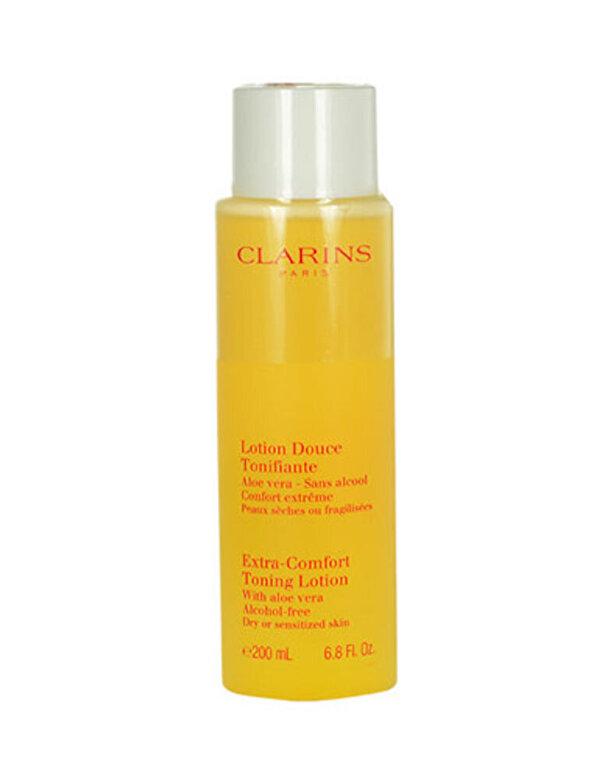 Clarins - Lotiune tonica pentru piele uscata Extra Comfort, 200 ml - Incolor