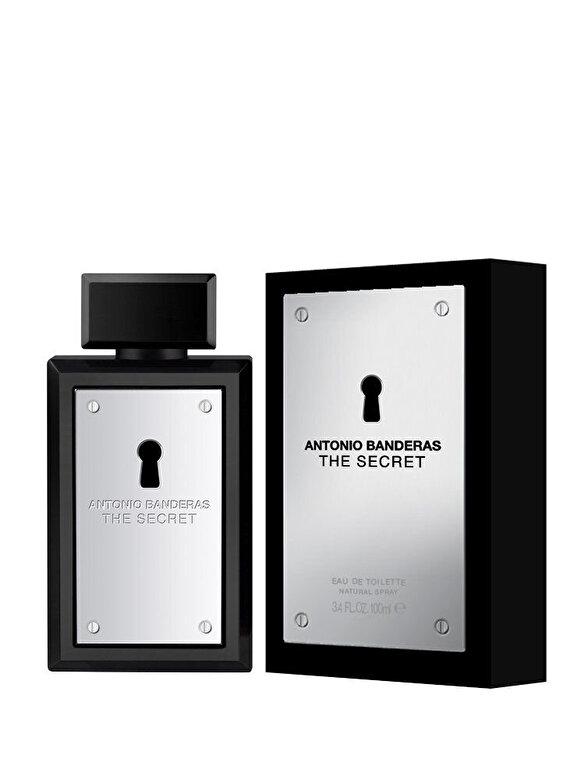 Antonio Banderas - Apa de toaleta The Secret, 100 ml, pentru barbati - Incolor