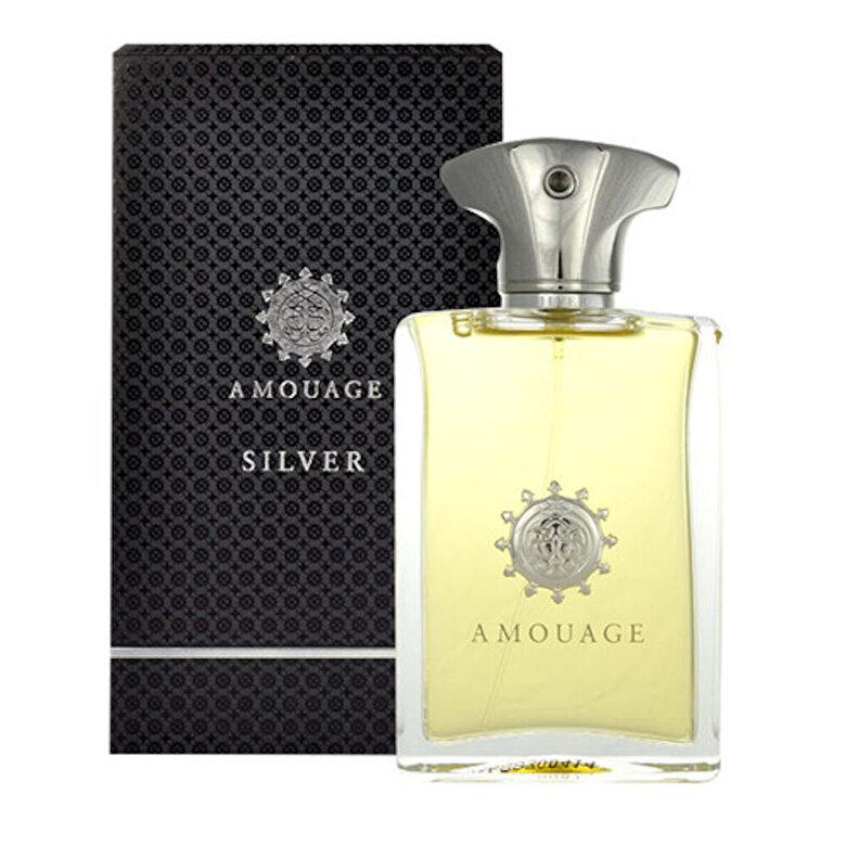Amouage - Apa de parfum Amouage Silver, 100 ml, pentru barbati - Incolor