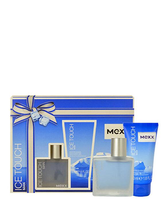 Mexx - Set cadou Ice Touch (Apa de toaleta 30 ml + Gel de dus 50 ml), Pentru Barbati - Incolor