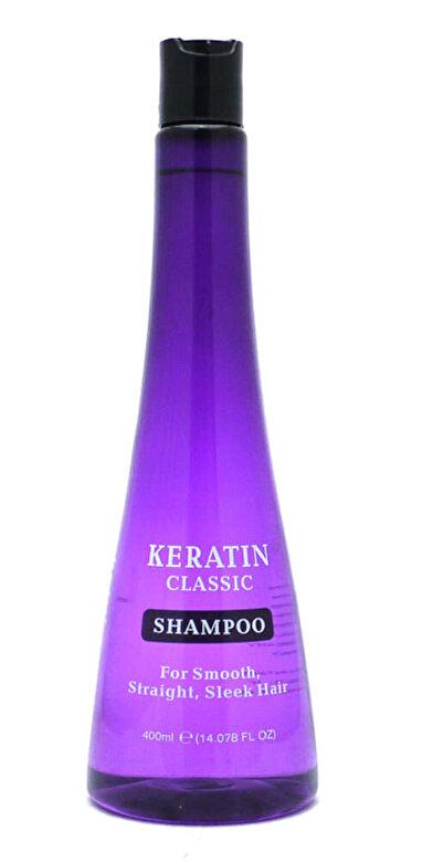Keratin Classic - Sampon cu Keratina, 400 ml - Incolor