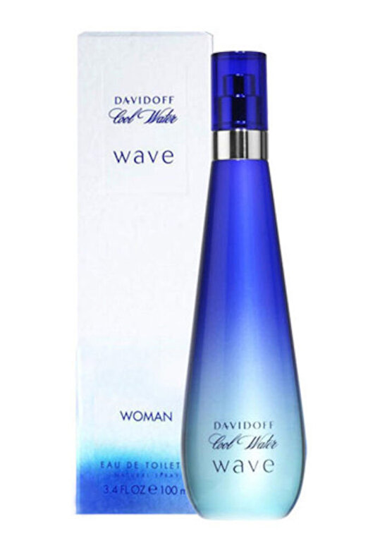 Davidoff - Apa de toaleta Davidoff Cool Water Wave, 50 ml, Pentru Femei - Incolor