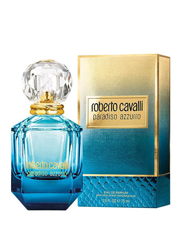 Roberto Cavalli - Apa de parfum Roberto Cavalli Paradiso Azzurro, 75 ml, Pentru Femei - Incolor