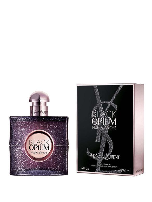 Yves Saint Laurent - Apa de parfum Black Opium Nuit Blanche, 50 ml, Pentru Femei - Incolor