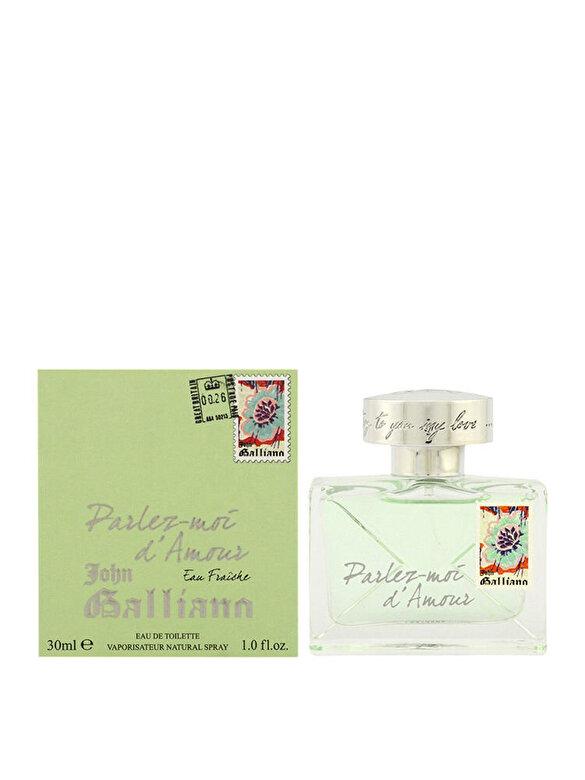 John Galliano - Apa de toaleta Parlez-Moi d'Amour Eau Fraiche, 30 ml, Pentru Femei - Incolor