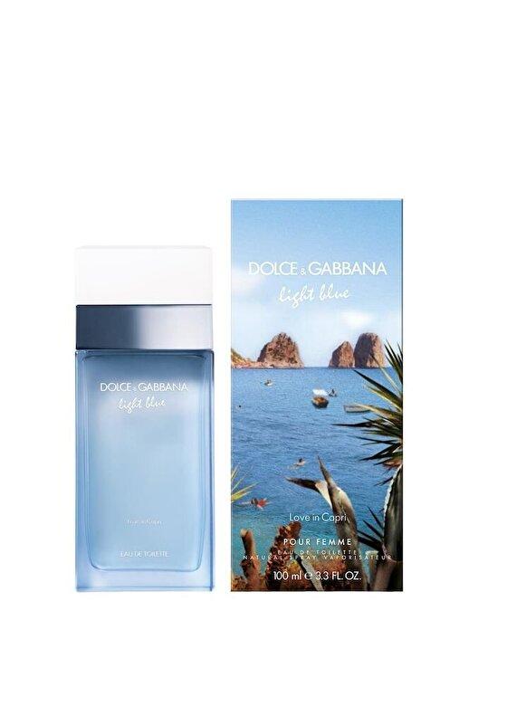 Dolce & Gabbana - Apa de toaleta Light Blue Love in Capri, 100 ml, Pentru Femei - Incolor